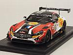 Mercedes AMG GT3 #89 24h Spa 2016 Perfetti - Cazenave - Lyons - Traffort by SPARK  MODEL