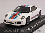 Porsche 911 Carrera S Aerokit Martini Racing Edition 2015 (White) (Porsche Promo) by SPARK MODEL