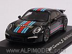 Porsche 911 Carrera S Aerokit Martini Racing Edition 2015 (Black) (Porsche Promo) by SPARK MODEL