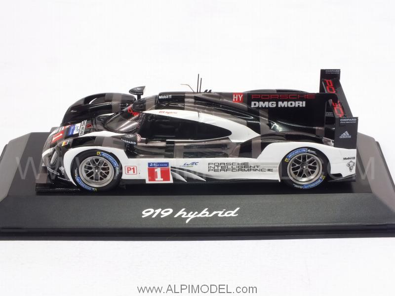 spark model porsche 918 hybrid le mans 2016 presentation car porsche promo 1 43 scale model. Black Bedroom Furniture Sets. Home Design Ideas