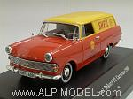 Opel Rekord P2 Caravan 1960  'Shell' by STARLINE.