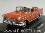 Opel Kapitaen 1958 (Coral Red/Alabaster White) by STARLINE.