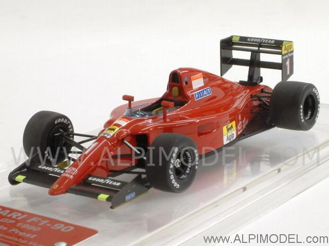 tameo ferrari f1 90 gp france 1990 winner alain prost ferrari 39 s 100th f1 victory 1 43 scale. Black Bedroom Furniture Sets. Home Design Ideas