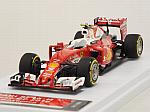 Ferrari SF16-H GP Japan 2016 Kimi Raikkonen (HQ Metal model) by TAM