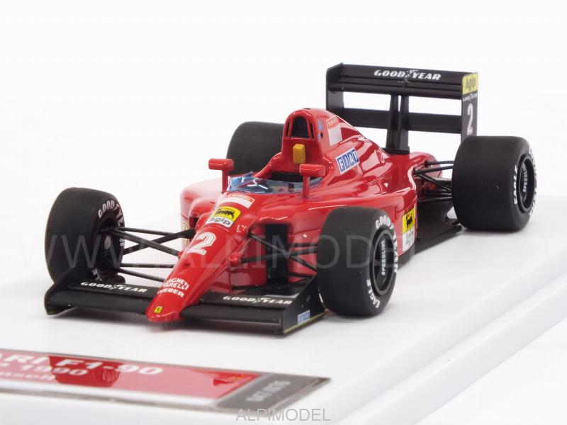 tameo ferrari f1 90 2 gp france 1990 nigel mansell hq metal model 1 43 scale model. Black Bedroom Furniture Sets. Home Design Ideas