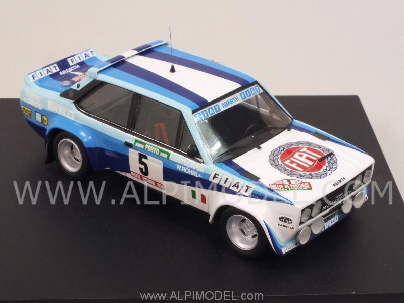Trofeu Fiat 131 Abarth 5 Winner Rally Portugal 1980 Rohrl