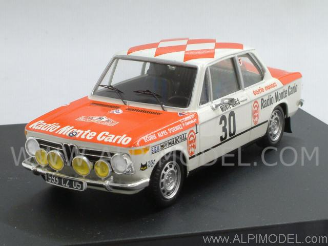 Trofeu Bmw 2002 30 Rally Monte Carlo 1975 Dorche