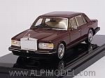 Rolls Royce Silver Spirit 1980 (Dark Red) by TRUE SCALE MINIATURES