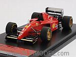 Ferrari 412 T2 Test Car 1995 Michael Schumacher by TRUE SCALE MINIATURES
