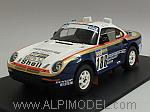 Porsche 959/50 #186 Winner Rally Paris-Dakar 1986  Metge - Lemoyne by TRUE SCALE MINIATURES