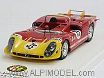 Alfa Romeo Tipo 33/3  #35 Le Mans 1970 Galli - Stommelen by TRUE SCALE MINIATURES
