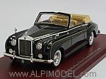 Rolls Royce Silver Cloud II 1963 Drophead Coupe 1961 (Black) by TRUE SCALE MINIATURES