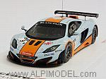 McLaren MP4/12C GT3 #9 Gulf Spa 2012 R.Bell - Meyrick - Waynewright by TRUE SCALE MINIATURES