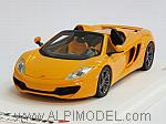 McLaren MP4/12C Spider 2013  (McLaren Orange) by TRUE SCALE MINIATURES