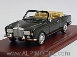 Rolls Royce Corniche Convertible 1971 (Black) by TRUE SCALE MINIATURES
