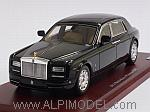 Rolls Royce Phantom EWB Sedan 2012 (Diamond Black) by TRUE SCALE MINIATURES