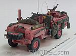 Land Rover 1968 Series IIA 109 Sas Patrol Vehicle Pink Panther by TRUE SCALE MINIATURES