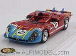Alfa Romeo Tipo 33/3 #37 Le Mans 1970 Galli - Stommelen by TRUE SCALE MINIATURES
