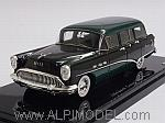 Buick Century Estate Wagon 1954 (Black/Green) by TRUE SCALE MINIATURES