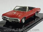 Chevrolet Impala SS Convertible 1967 (Bolero Red) by TRUE SCALE MINIATURES