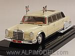 Mercedes 600 Pullman 1975 King Hussein of Jordan by TRUE SCALE MINIATURES