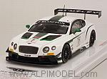 Bentley GT3 #7 M-Sport Winner Blancpain GT Silverstone 2014 Smith - Meyrick - Kane by TRUE SCALE MINIATURES