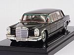 Mercedes 600 Pullman 6-doors 1964 (Black) by TRUE SCALE MINIATURES