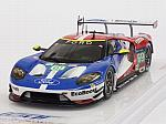 Ford GT LMGTE PRO Team Ganassi USA #69 Le Mans 2016 Briscoe - Westbrook - Dixon by TRUE SCALE MINIATURES