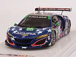Acura NSX GT3 #86 Uncle Sam IMSA Watkins Glen 2017 Glen Myer by TRUE SCALE MINIATURES