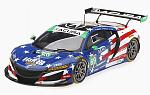 Acura NSX GT3 #69 IMSA Watkins Glen Hart 2018 by TRUE SCALE MINIATURES