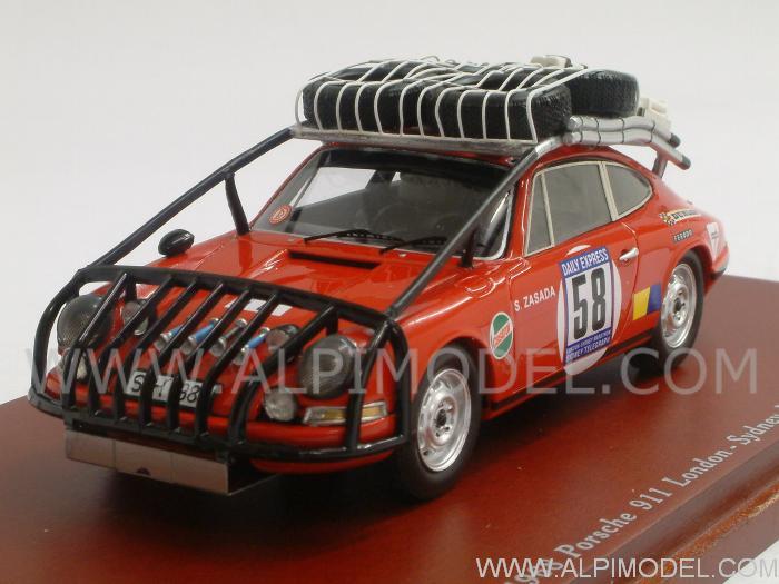 True Scale Miniatures Porsche 911 58 London Sydney