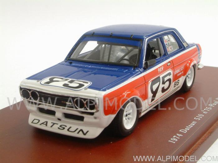 true-scale-miniatures Datsun 510 #75 1974 Paul Newman (1 ...