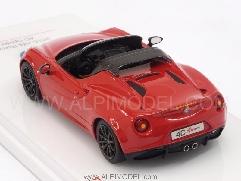 Alfa Romeo 4c >> true-scale-miniatures Alfa Romeo 4C Spider 2014 (Red) (1/43 scale model)