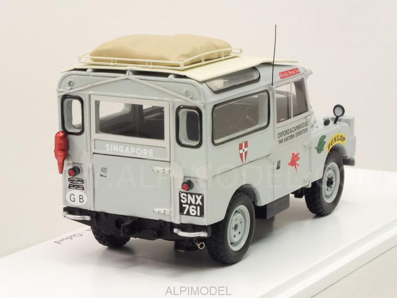 True Scale Miniatures Land Rover Series I Oxford Cambridge Far Easter Expedition 1955 Oxford