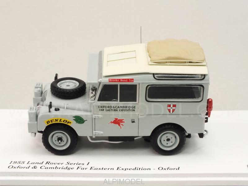 True Scale Miniatures Tsm164322 Land Rover Series I Oxford Cambridge Far Easter Expedition 1955