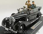 4 Figures set for 1/18 scale Mercedes770K 1938 (Mercedes car NOT included/auto Mercedes NON inclusa) by VARIE