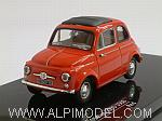 Fiat 500 D 1960 (Red) by VITESSE