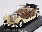 Mercedes SS 1933 (Beige/Brown) by WHITEBOX