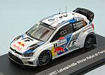 Volkswagen Polo R WRC #2 Winner Rally France 2014 Latvala - Anttila by WHITEBOX