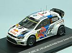 Volkswagen Polo R WRC #2 Winner Raly Sweden 2014 Latvala - Anttila by WHITEBOX