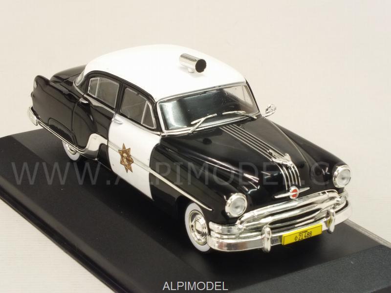 Pontiac Chieftain 1954 California Highway Patrol Police 1:43 Model WHITEBOX