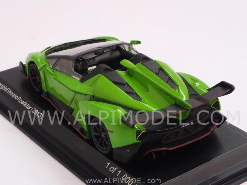 whitebox Lamborghini Veneno Roadster 2013 (Green) (1/43 ...
